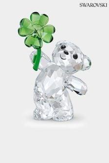 Swarovski Silver Kris Bear Lucky Charm Ornament
