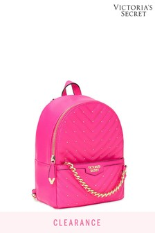 Victoria's Secret Fuchsia Studded Small City Backpack