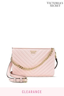 Victoria's Secret Pebbled VQuilt Crossbody Bag