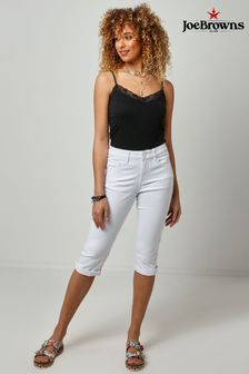 Joe Browns White Capri Pants