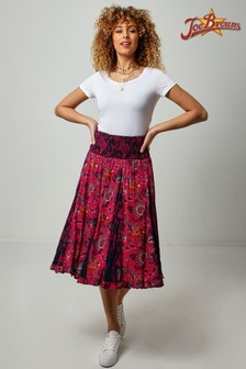 Joe Browns Pink Elegant Godet Skirt
