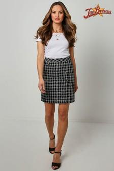 Joe Browns Black Beautiful Boucle Skirt