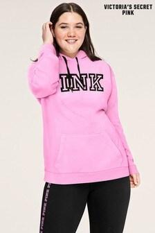 Victoria's Secret PINK Black Everyday Lounge Pullover Hoodie