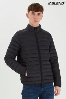 Blend Black Lightweight Puffer Jacket