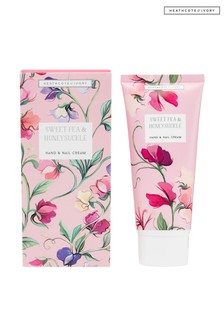 Heathcote & Ivory New Sweetpea and Honeysuckle Hand and Nail Cream 100ml