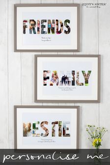 Personalised Friend Photo Print Frame by Jonny's Sister