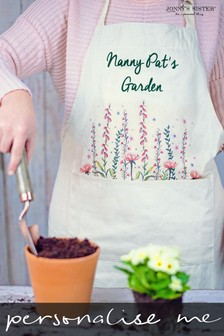 Personalised Gardening Apron by Jonny's Sister