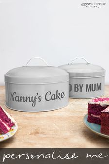 Personalised Cake Tin by Jonny's Sister