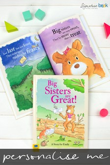 Personalised Big Sisters Are Great Hardback Book by Signature Book Publishing