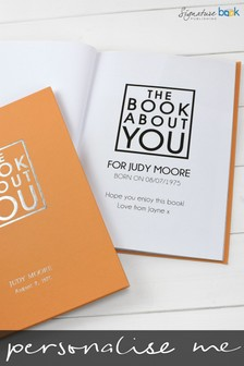 Personalised The Book About You Hardback by Signature Book Publishing