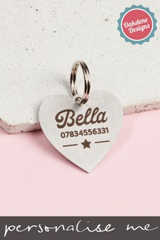 Personalised Cat Tag by Oakdene