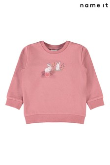Name It Pink Sweatshirt