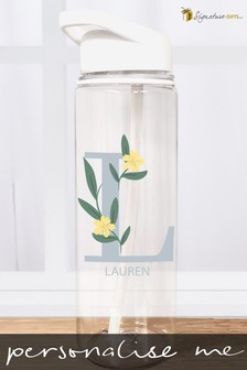 Personalised Initial Water Bottle by Signature Gifts