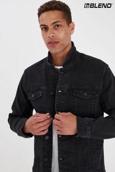 Blend Black Stretch Denim Jacket