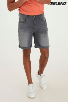 Blend Grey Strech Denim Short