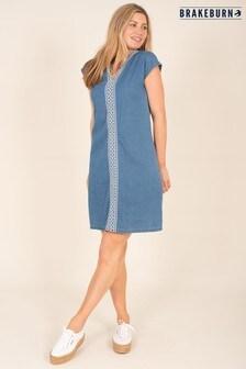 Brakeburn Blue Denim Dress
