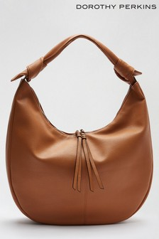 Dorothy Perkins Brown Sorrento Pu Hobo Bag