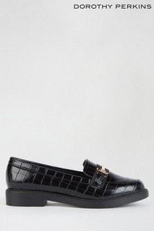 Dorothy Perkins Black Liberty Snaffle Loafer