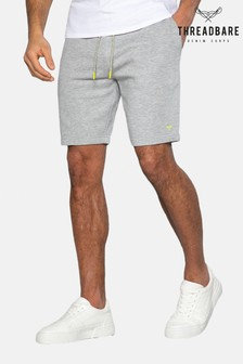 Threadbare Grey Bergamot Fleece Shorts