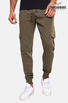 Threadbare khaki Stefan Cargo Style Joggers