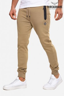 Threadbare stone Tristain Slim Fit Joggers