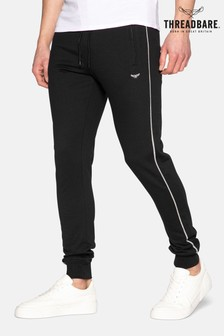 Threadbare Black Morris Slim Fit Joggers