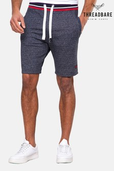 Threadbare Navy Perry Fleece Shorts