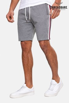 Threadbare Grey Ross Fleece Shorts