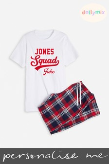 Personalised Mens Family PJ's by Dollymix