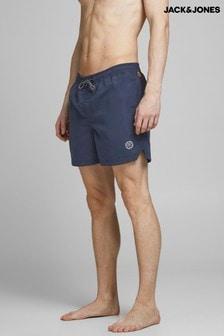 Jack & Jones navy blazer Drawstring Swim Shorts
