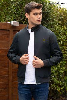 Threadbare Navy Rothbury Harrington Jacket