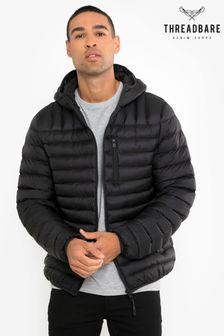 Threadbare Black Fetlar Padded Jacket
