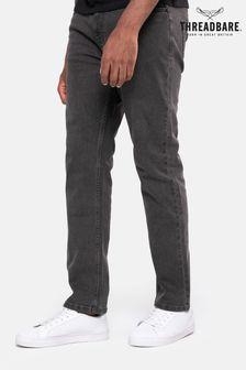 Threadbare Grey Wash Penrith Straight Leg Jeans