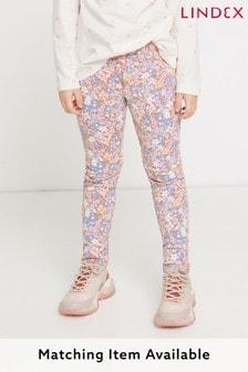 Lindex Pink Printed Jeggings