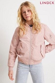 Lindex Pink Kids Bomber Jacket