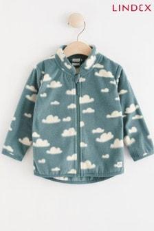 Lindex Blue Baby Fleece Lined Jacket