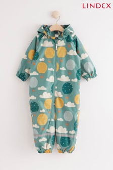 Lindex Camouflage Print Baby Water Resistant Lightweight Rain Suit