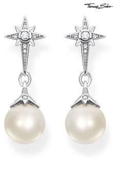 Thomas Sabo Silver Kingdom of Dreams Pearl  Earrings