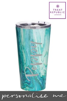 Personalised Jungley Stainless Steel Tumbler by Treat Republic