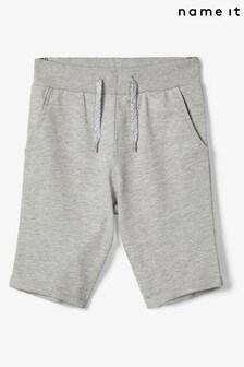 Name It Grey Melange Jersey Shorts