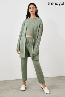 Trendyol Green Three Piece Loungewear