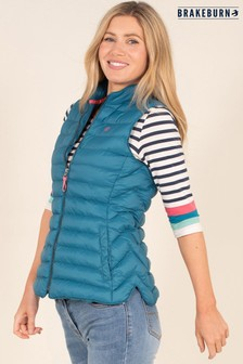 Brakeburn Green Quilted Gilet