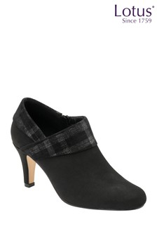 Lotus Footwear Black Shoe Boot