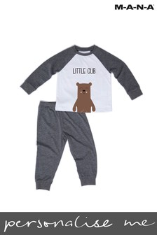 Personalised Little Cub Childrens PJ Set by MANA