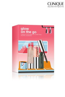Clinique Glow On The Go: Makeup Set (worth £40)