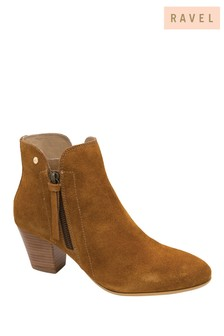 Ravel Brown Ankle Boot