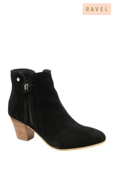 Ravel Black Ankle Boot