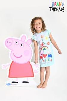 Brand Threads Teal Girls Peppa Pig Nightie