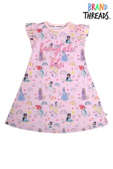 Brand Threads Pink Girls Princess Nightie