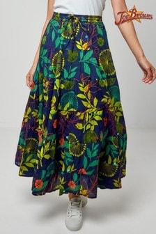 Joe Browns Blue Botanical Garden Skirt